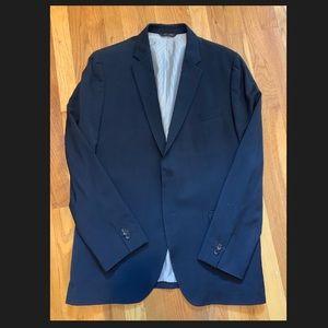 Dark Blue Banana Republic Suit. Tailored Slim Fit.